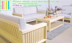 博洛尼亚Bologna纯实木家具客厅沙发