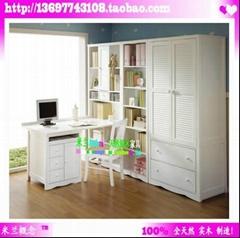 博洛尼亚风格书房家具书柜