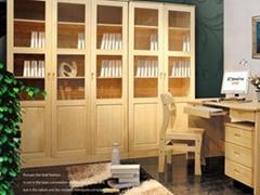 广州实木书柜