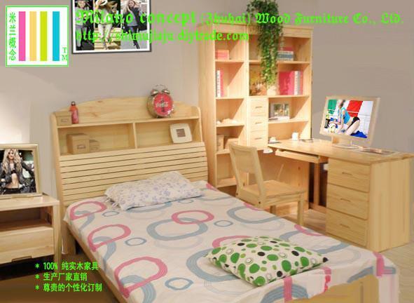 Disney迪斯尼儿童套房實木傢具 5
