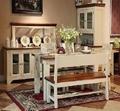 博洛尼亞餐廳傢具實木餐桌