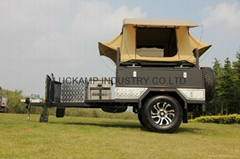Camping Trailer With Roof tent