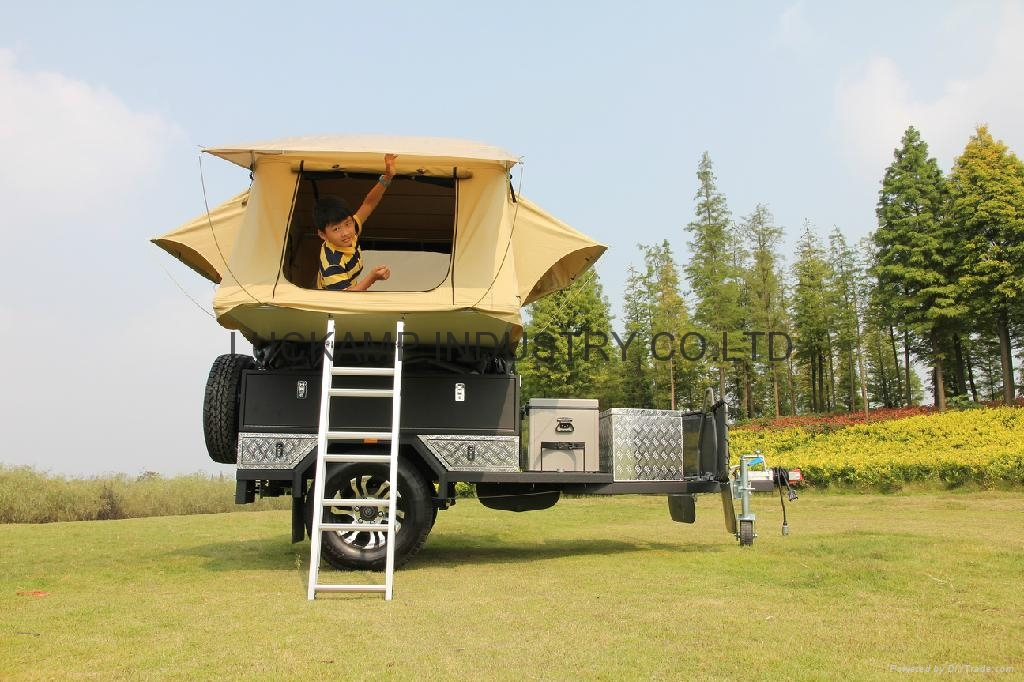 Model Camping Trailer RRCP5 China Manufacturer  Special Transportation