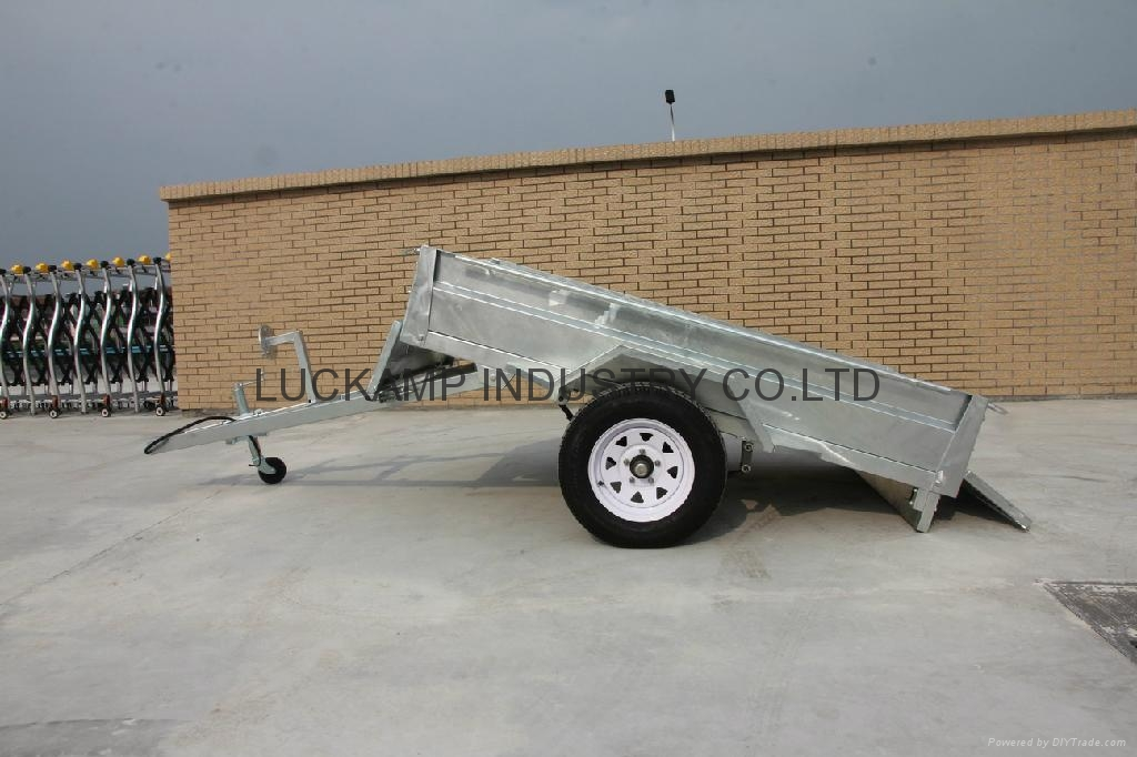 Tipping Box Trailer 2