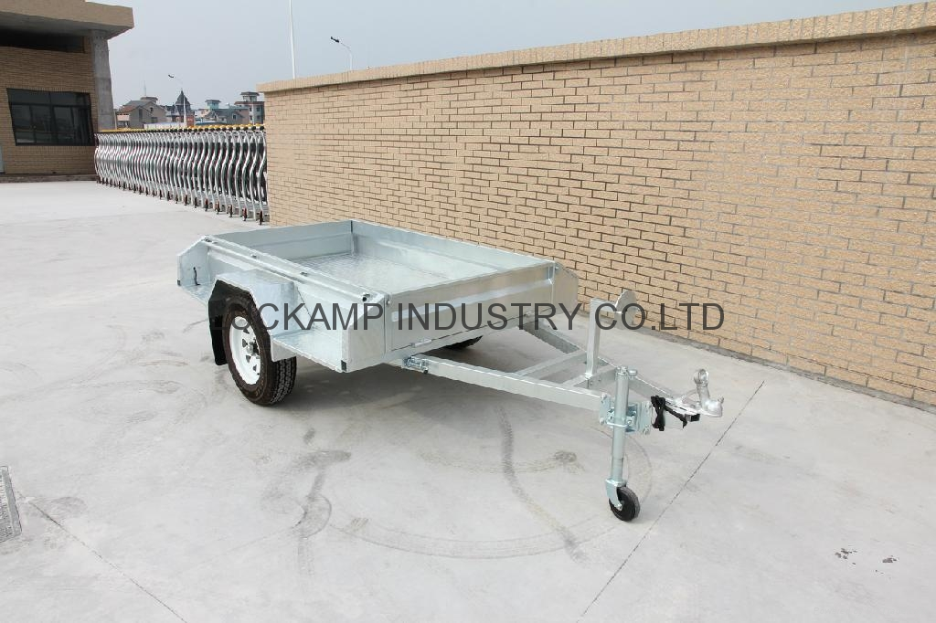 Fully Welded  Box Trailer 1