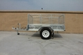 Fully Welded  Cage Trailer 1