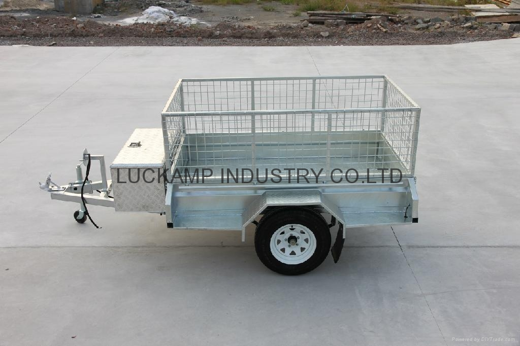 Fully Welded  Cage Trailer 2