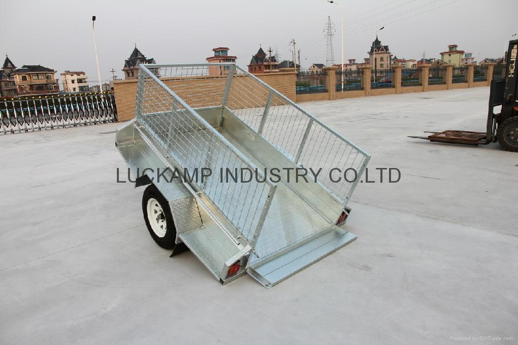 Fully Welded  Cage Trailer 4