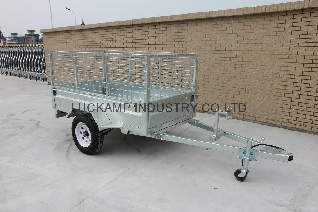 Tipping Cage Trailer 1