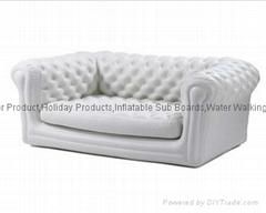 Inflatable PVC Sofa