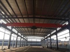 Electric single-girder crane
