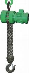 Mine explosion-proof chain hoist