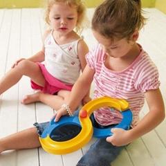 8字形玩具 轨道玩具溜溜球 感触训练 跨境出口供货源