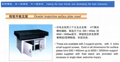 granite inspection surface plate stand