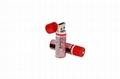 1.2V 1450mAh USB Rechargeable AA Batteries(Green 1