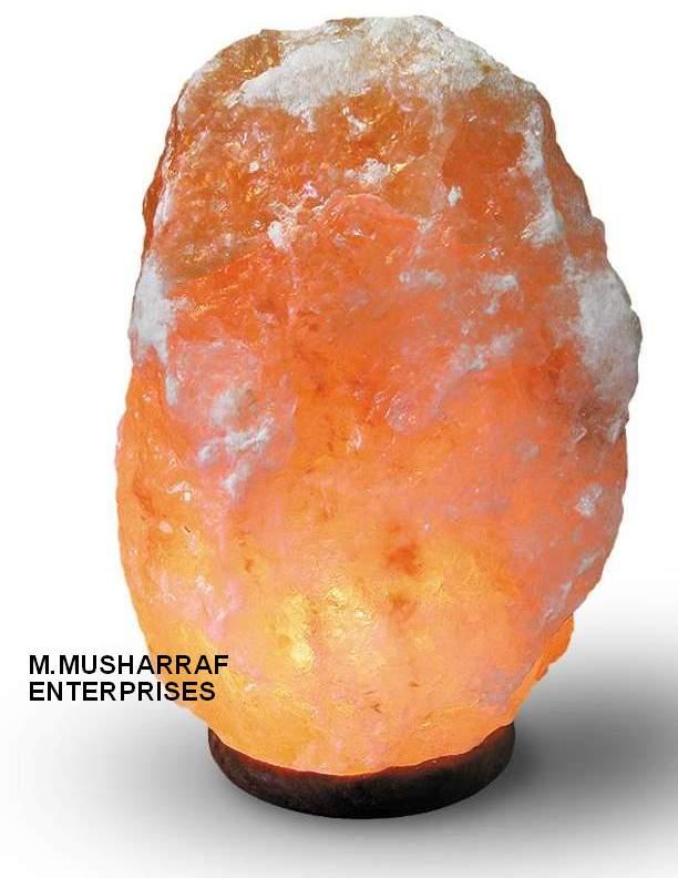 HIMALIYAN  SALT CRYSTAL LAMP 1