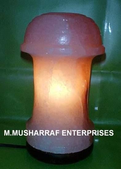 ROCK SALT TABLE LAMP 1