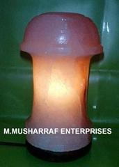 ROCK SALT TABLE LAMP
