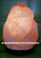 NATURAL SALT HEART LAMP 1