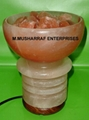 HIMALAYAN SALT FIRE BOWL CRYSTAL LAMP