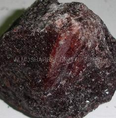 Black Salt lumps.