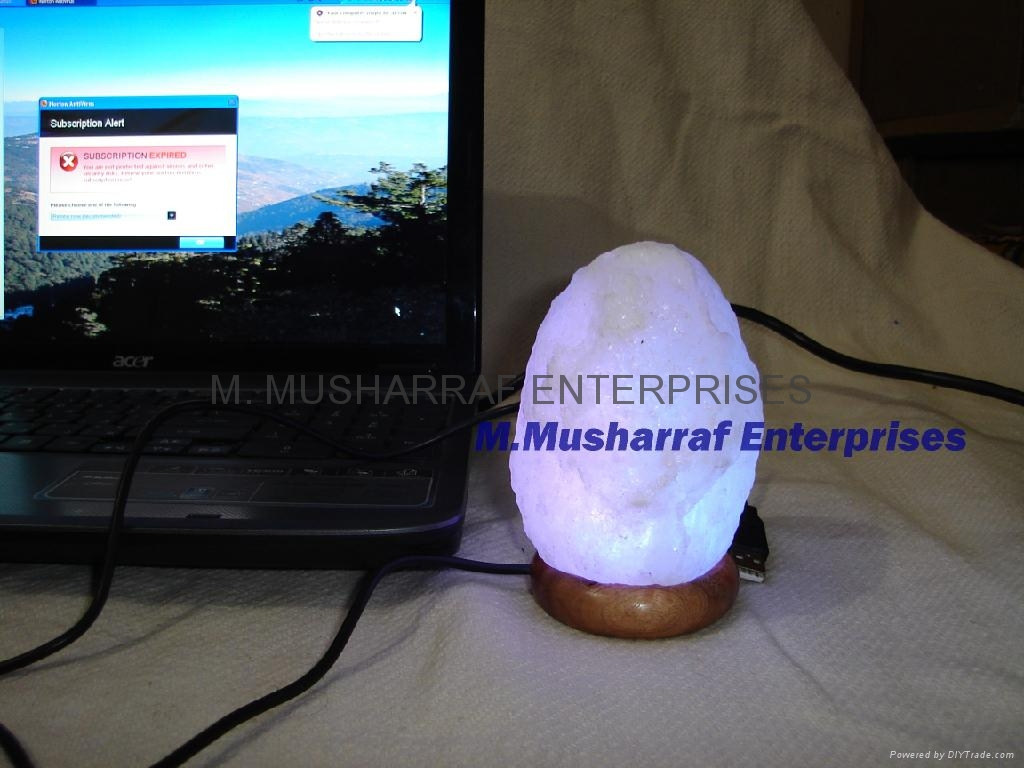 HIMALAYAN SALT USB NATURAL TINY LAMP 4