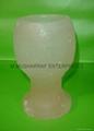HIMALAYAN SALT GLASS CANDLEHOLDER 1