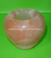HIMALAYAN SALT APPLE CANDLEHOLDER