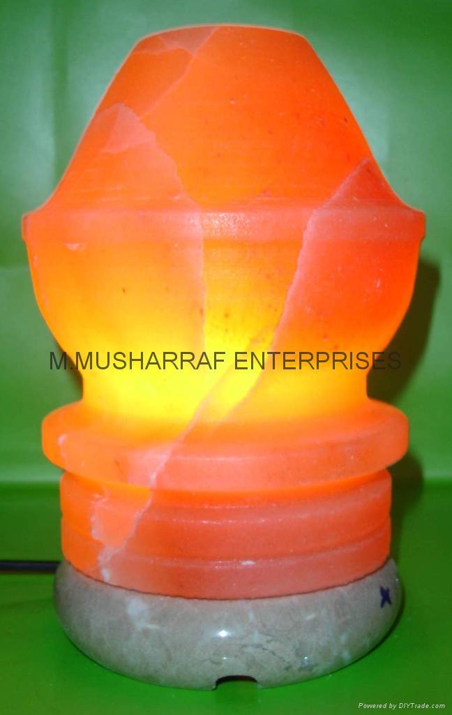 HIMALAYAN ROCK SALT CRAFTED LAMP 1