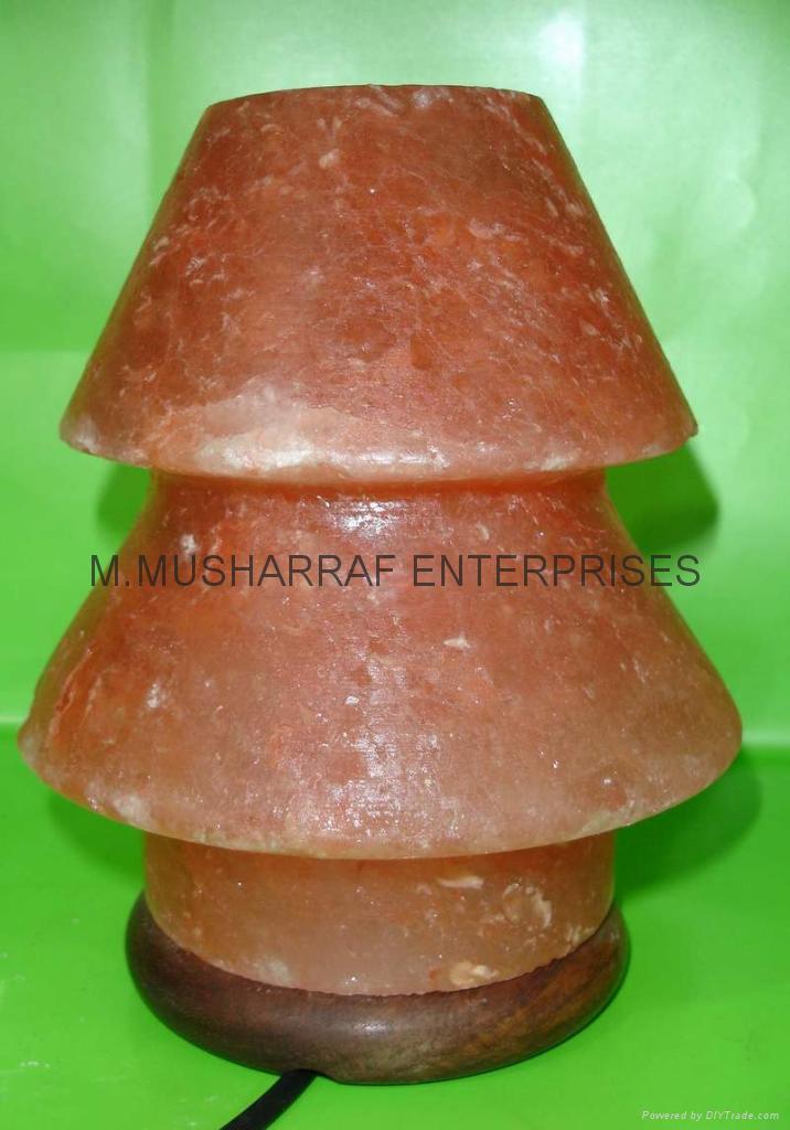 HIMALAYAN ROCK SALT CRYSTAL UMNERELLA Lamp. 4