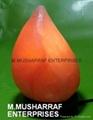 HIMALAYAN ROCK SALT CRYSTAL TEAR DROP LAMP 2