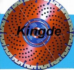 金刚石圆锯片:高频焊接型锯片