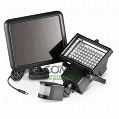 Solar Security Light with 60 leds