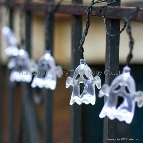 outdoor halloween decoration string light solar or AC or battery powered 3