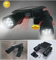 brightest motion activated solar security Light with motion sensor