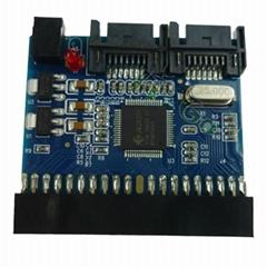 IDE SATA串口并口硬盘双向互转卡