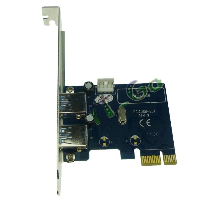 2 Port USB3.0 PCI express card 2