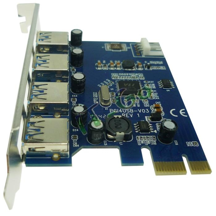 4 Port Usb 3 0 Pci e Card 4 Port Usb 3 0 Pci Express