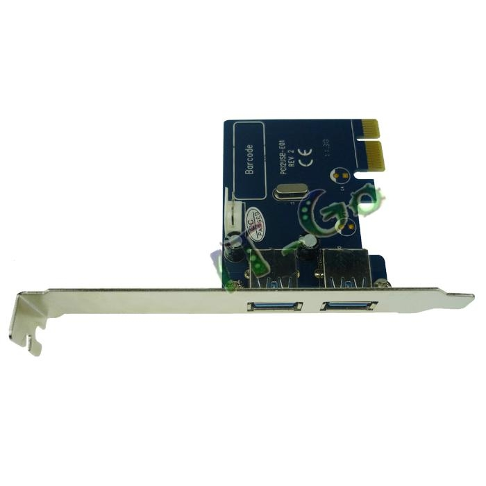 2 Port USB3.0 PCI express card 3