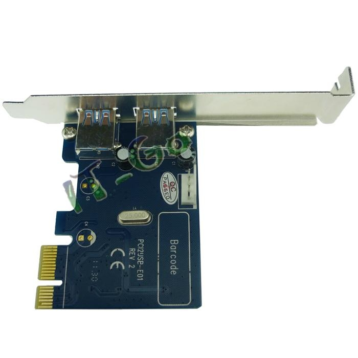 2 Port USB3.0 PCI express card 4