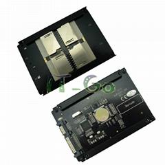 4个SD转SATA转接卡 支持RAID