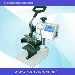 Digital hat heat press machine
