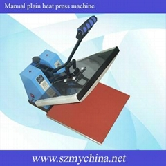 manual plain heat press machine