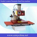 Double Location Pneumatic Heat Press machine B