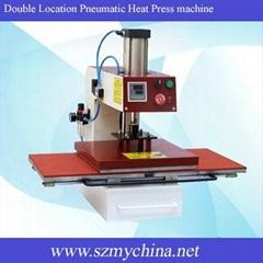 Double Location Pneumatic Heat Press machine B