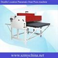 Double Location Pneumatic Heat Press machine C