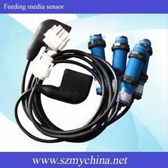 feeding media sensor