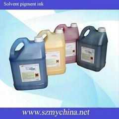 solvent pigment ink