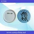 pin badge material