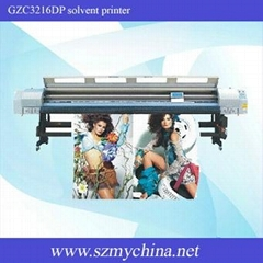 GZC3216DP outdoor solvent printer